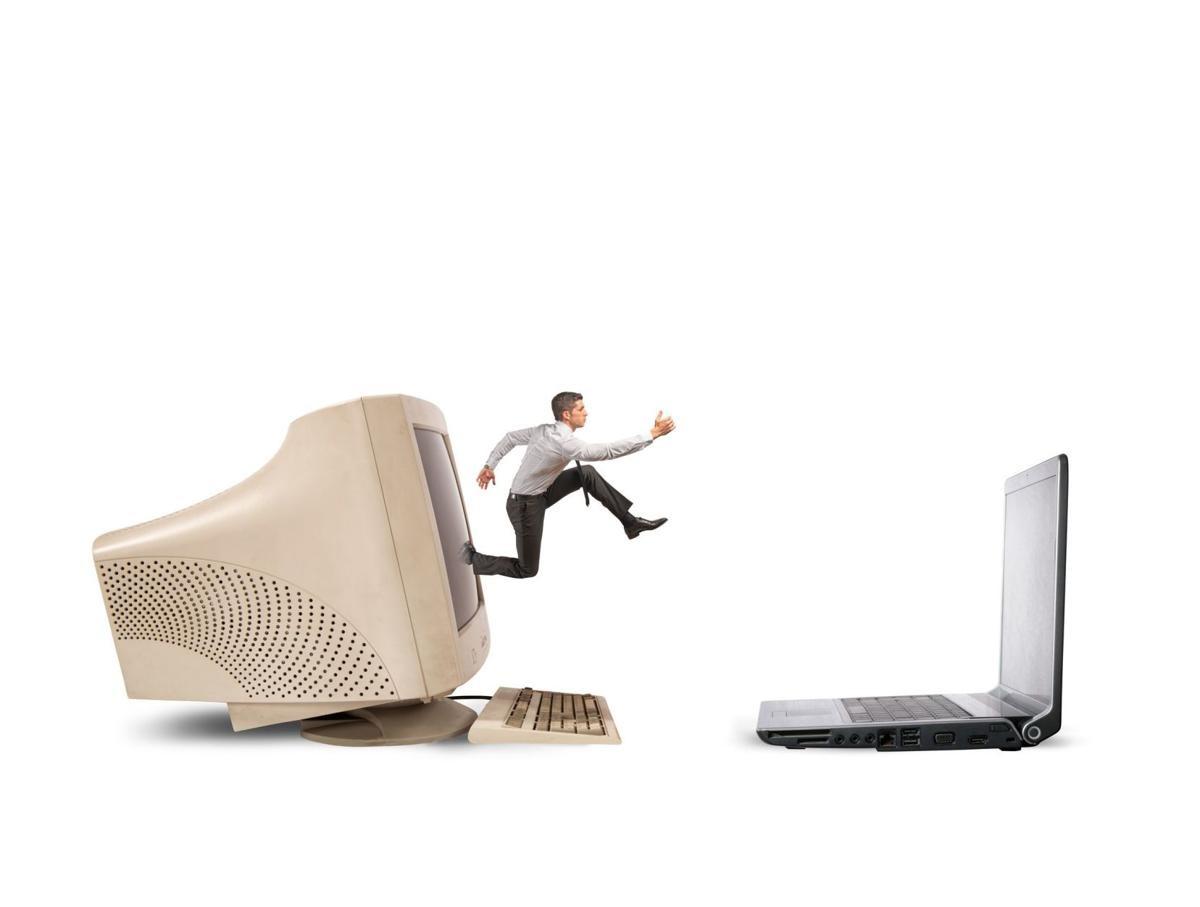 ارتقا کامپیوتر یا خرید یک کامپیوتر جدید مثل لپ تاپ