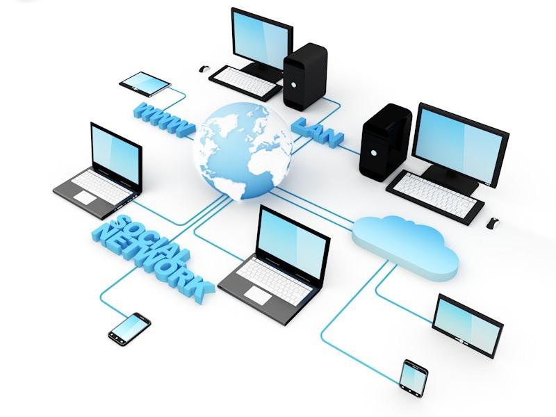شبکه کامپیوتری تشکیل شده بین دستگاه های الکترونیکی